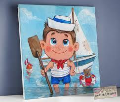 tableau deco chambre enfant tableau pourchambre enfant petit marin vente tableau déco matelot