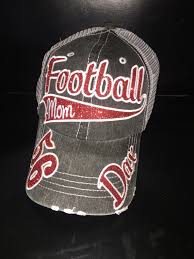 Engraved Football Gifts Personalized Football Mom Hat By Outlawsouldesigns On Etsy