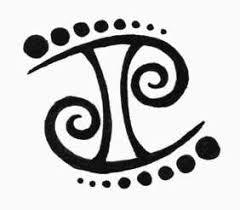 outline gemini tattoos designs