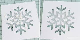 hand embossed snowflake christmas card u2013 goh li kim