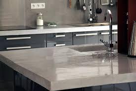 beton ciré pour plan de travail cuisine le béton ciré ou l esprit loft inspiration cuisine le magazine