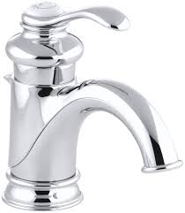 One Hole Bathroom Faucet by Faucet Com K 12182 Bn In Brushed Nickel By Kohler