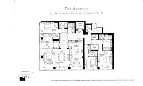 ritz carlton condo toronto real estate floor plan augusta 3 bedroom
