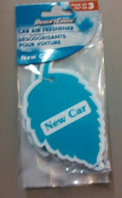 air freshener new car smell free driver s choice car air fresheners new car scent 3 pack
