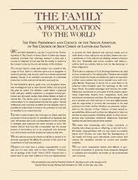 family proclamation bethany packard the search for supreme and the family