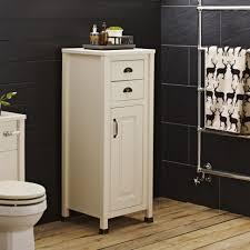 Tall Bathroom Cabinet by Bathroom Cabinets Alverton Ivory Tallboy Bathroom Cabinet