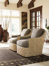 Living Room Swivel Chairs by Lexington Upholstery Byron Bay Swivel Chair Lexington Home Brands