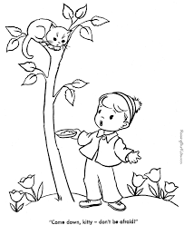 printable kitten coloring pictures