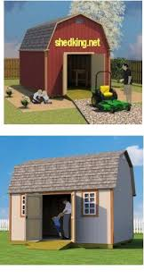 Barn Sheds Barn Shed Plans Small Barn Plans Gambrel Shed Plans
