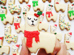 llama orange spiced cookies for the holidays brit co