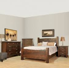 amish rough sawn elegance solid wood construction in live edge style