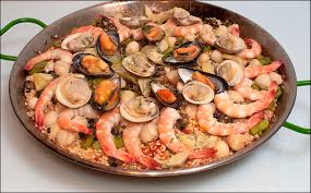 dinner party recipes ideas paella with seafood u0026 snails