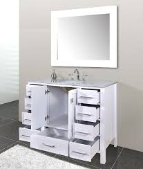 Bathroom Awesome  Best Vanities Images On Pinterest Ideas Vanity - Awesome white 48 bathroom vanity residence
