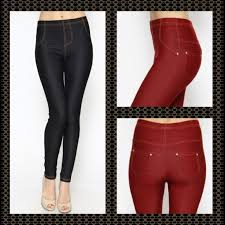Plus Size Ripped Leggings 25 Off Pants Plus Size Pocketed Jeggings 1x 3x 2 Left