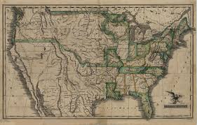 Pictures Of The United States Map by File Map Of The United States 1823 Jpg Wikimedia Commons