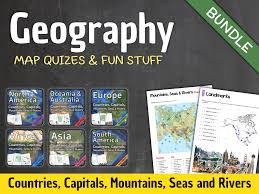 South America Capitals Map Quiz by Geography South America By Willemmacau Teaching Resources Tes