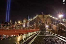 9 11 Memorial Lights Tribute In Light 9 11 2016 From The Brooklyn Bridge New York