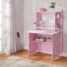 White Art Desk Legare 36 In Desk With Hutch Pink And White Hayneedle