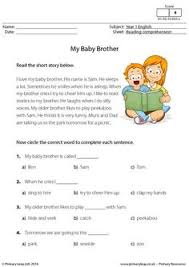 esl reading comprehension worksheets saandmitzi printables