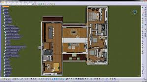 Breeze House Floor Plan Cad Outside