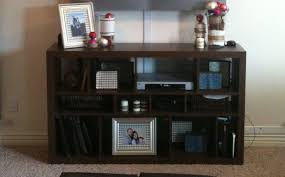 ikea cubbies remodelaholic transform ikea cubbies into a pottery barn console
