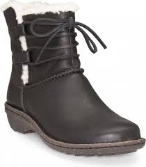 womens black ankle ugg boots ugg australia s caspia ankle boots