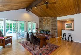Updating Wood Paneling A Drab U002760s Great Room Updates Its U0027mad Men U0027 Vibe Startribune Com