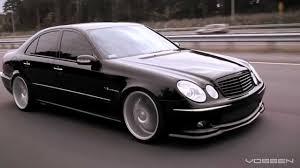 2003 mercedes e55 amg for sale mercedes e55 amg on 20 vossen vvs cv3 concave wheels rims