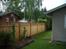 Outdoor Fence Lighting Ideas by Privacy Fence Ideas For Backyard Unique Hardscape Design Photo On