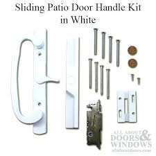 Sliding Patio Door Lock Patio Door Locks Patio Door Handle Kit Vinyl Sliding Door White