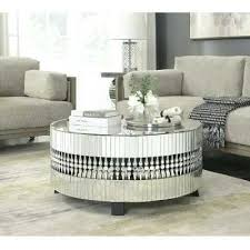 mirrored glass coffee table mirrored glass coffee table amazon com fab glass and mirror bent