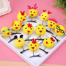 2017 new style cute spring chicken headdress hairpin