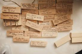 guest books for memorial service build memorials with a jenga block guest book alternative via 18