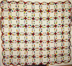 Wedding Ring Quilt by Double Wedding Ring Quilt History From Yesterday To Today