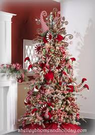 peppermint themed tree decorations decorations