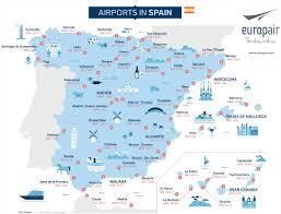 Menorca Spain Map by Map Airports Spain