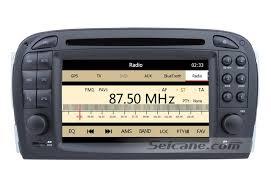 avec radio lecteur dvd de voiture pour mercedes sl r230 avec gps radio tv