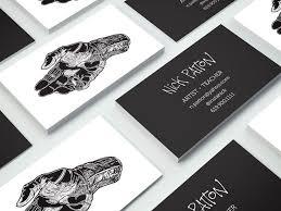 printable art business artist business card kvantita info