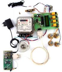 microcontroller based wireless energy meter system working