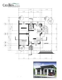 House With Floor Plans Crestview Homes U2013 Real Property Davao