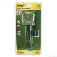 stanley outdoor light timer instructions stanley christmas light yard power stake