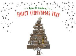 how to make a pallet christmas tree the gilded daisy
