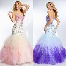 online get cheap corset ombre prom dresses aliexpress com