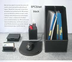 Office Desk Organizer by Office Desk Accessories Set Modern Desk Accessories Office Depot