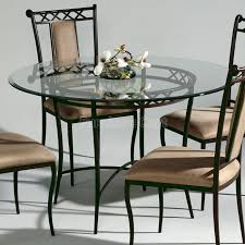 Wrought Iron Kitchen Table Wrought Iron Round Dining Table Kitchen Table And Chairs