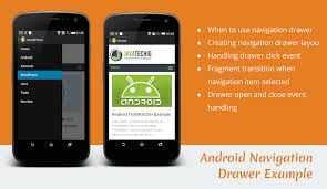 android studio dashboard tutorial navigation drawer android exle stacktips