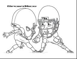 Coloring Pages Football Player Coloring Sheets Football Players