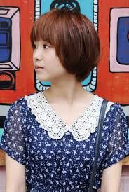 pictures of lovely short asian bob haircut for girls