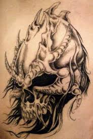 skull by metamorphine on deviantart