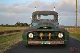 Classic Ford Truck Dealers - 1951 ford f100 custom ratrod hotrod f truck vintage texaco rod